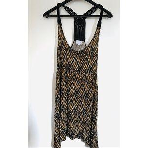 Tops - Animal Print Top/dress Size S